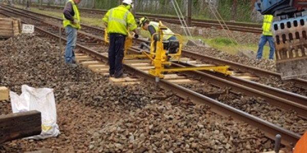 Vernieuwen wisselhouten – BAM Rail